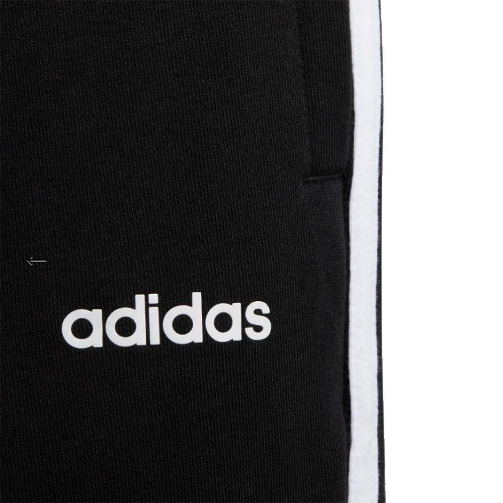 adidas adidas pant.felpa bambino nero bianco fm0754