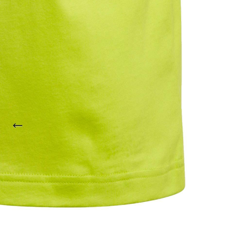 adidas adidas t-shirt bambino verde acido fm7032