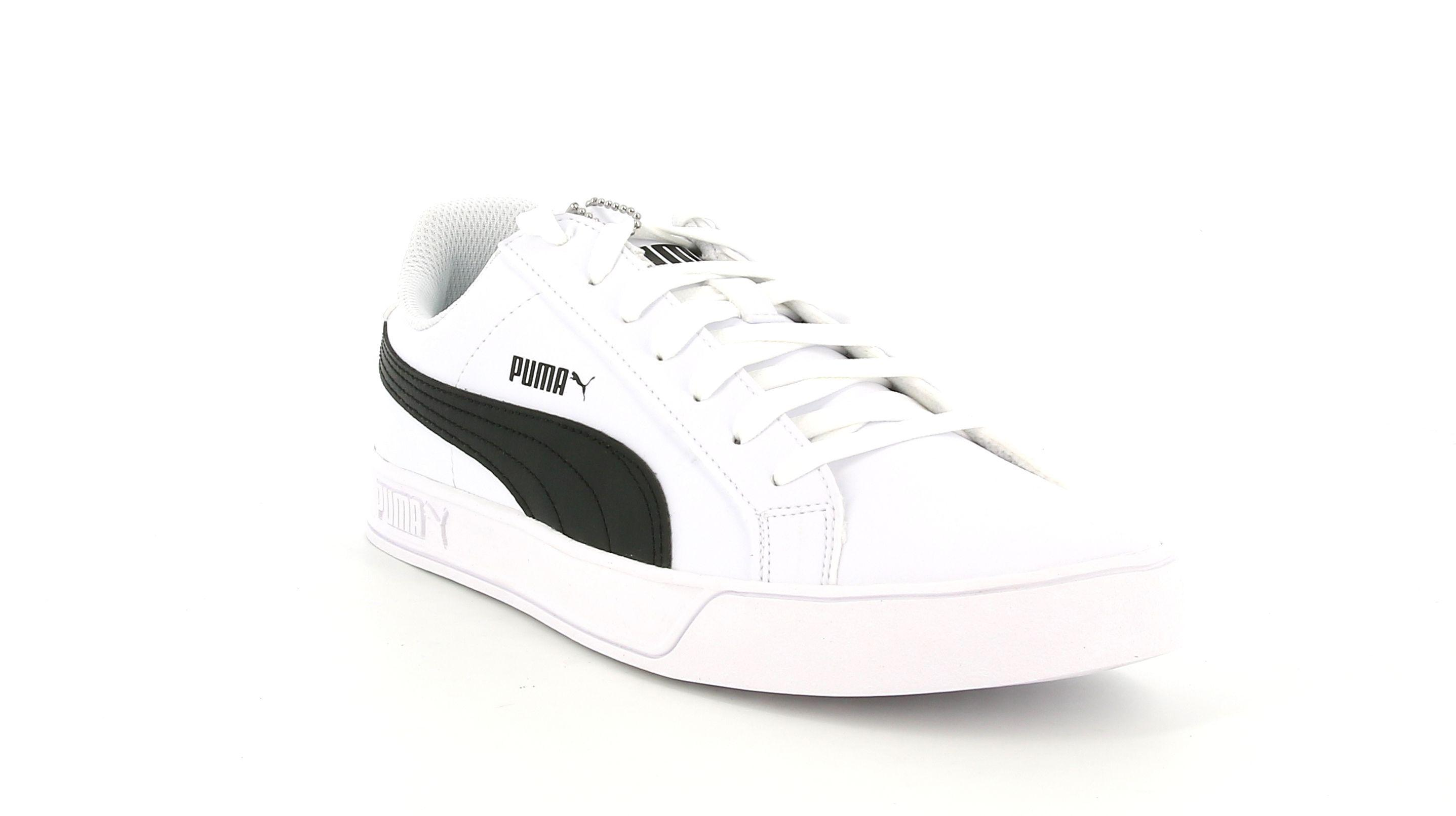 puma puma smash vulc uomo 359622 005 bianco sneaker bassa