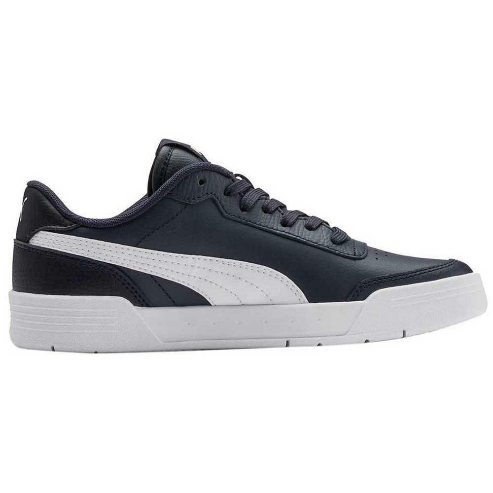 puma puma caracal jr bambino sneaker sportiva 370529 003 blu
