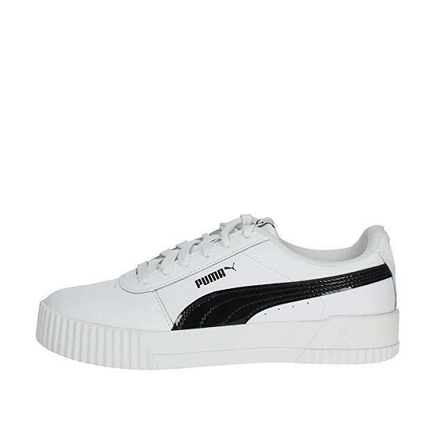 puma puma carina pfs wns donna scarpa sportiva 371212 002 bianca