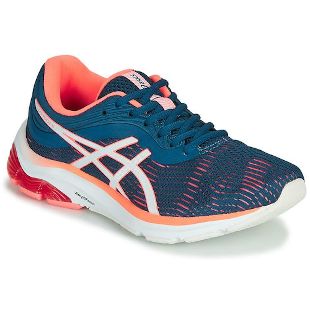 Asics gel pulse 11 donna scarpe running 1012a467 blu