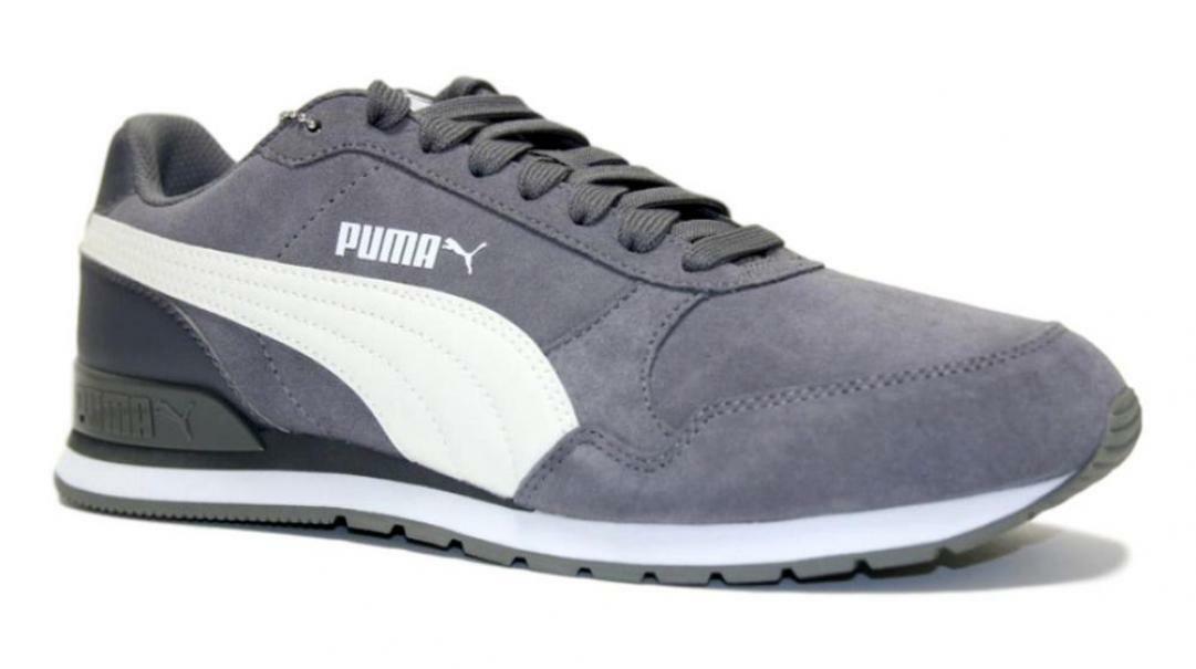 puma puma st runner v2 sd 365279 011 uomo sneaker sportiva grigio