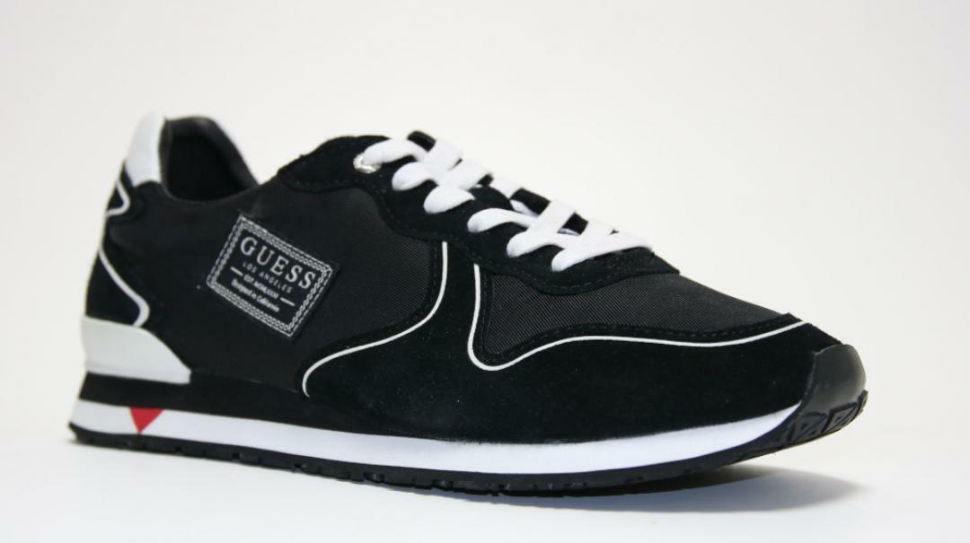 Guess sneaker sportivo uomo fm7nglsue12 nero