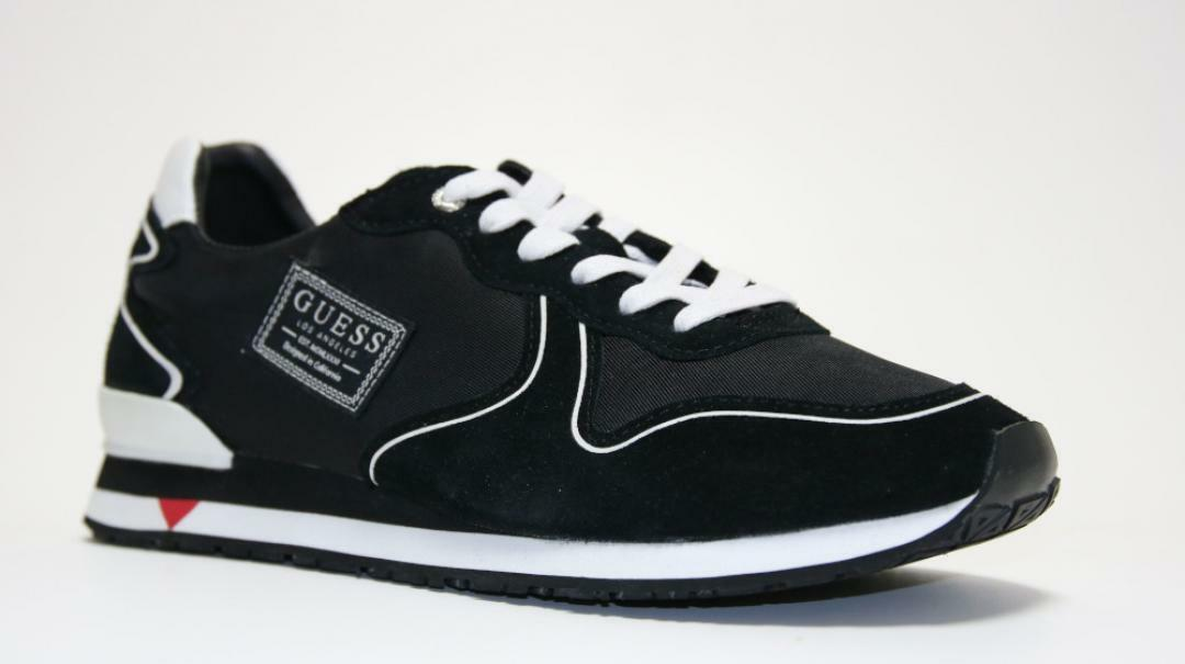 guess guess sneaker sportiva uomo fm7nglsue12 nero