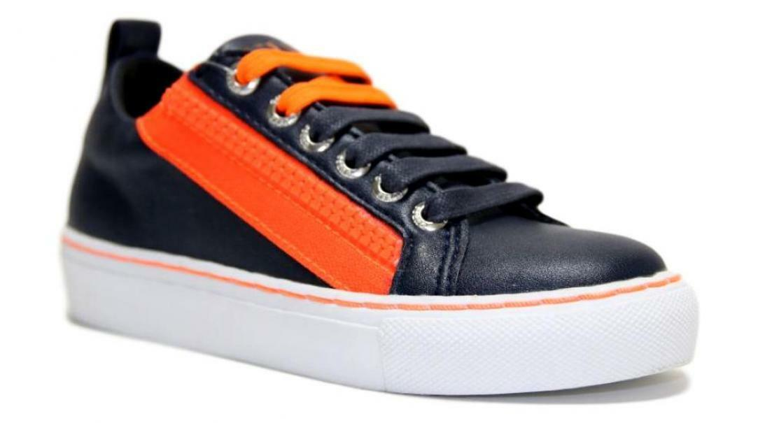 guess guess sneakers bassa bambino 7luiele12 blu