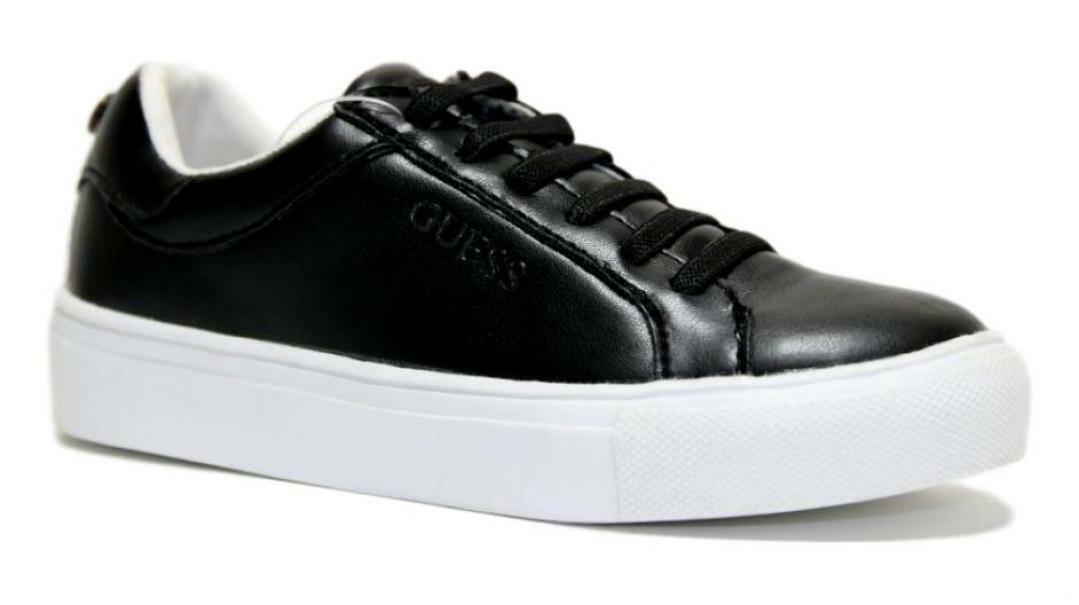 guess guess bambina sneakers bassa 7ribele12 nero