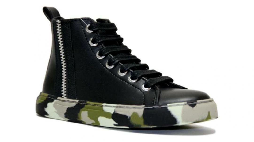 guess guess sneaker alta scarpa bambino sneaker alta 7lhiele12 nero