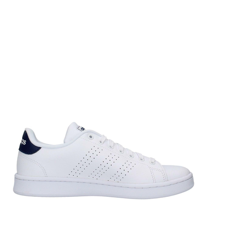 adidas adidas advantage uomo f36423 bianco blu