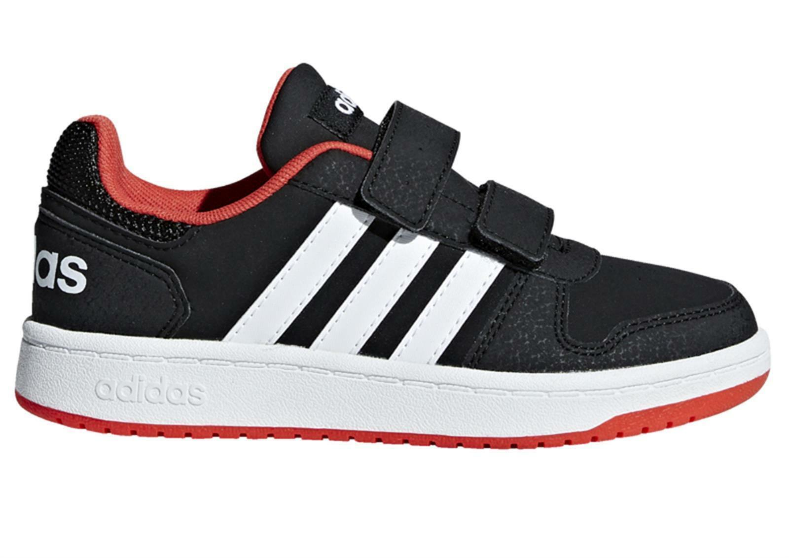 adidas hoops 2.0 cmf i bambino strappo sportivo  b75965 nero