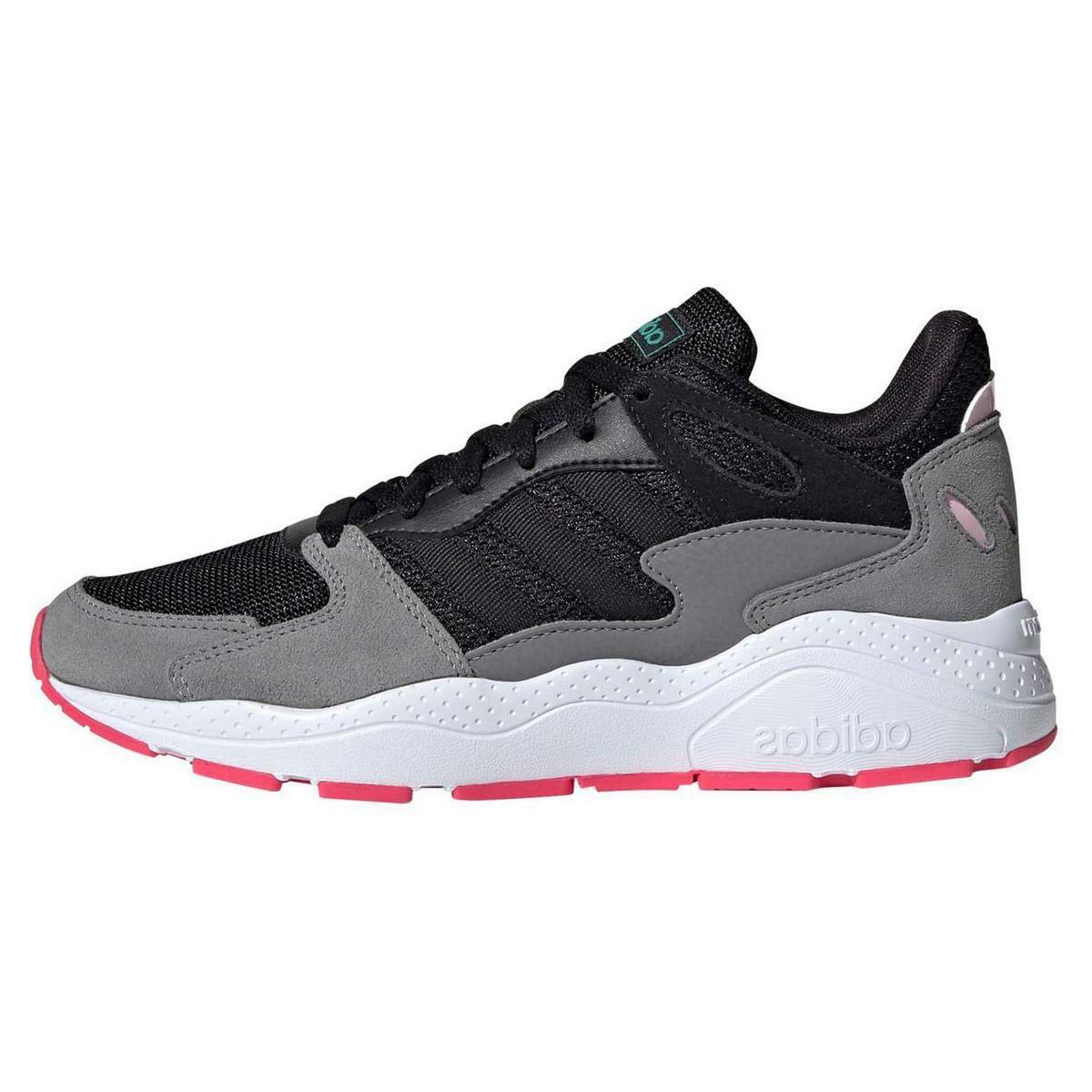 adidas adidas crazy chaos donna sneaker sportiva ef1060 nero
