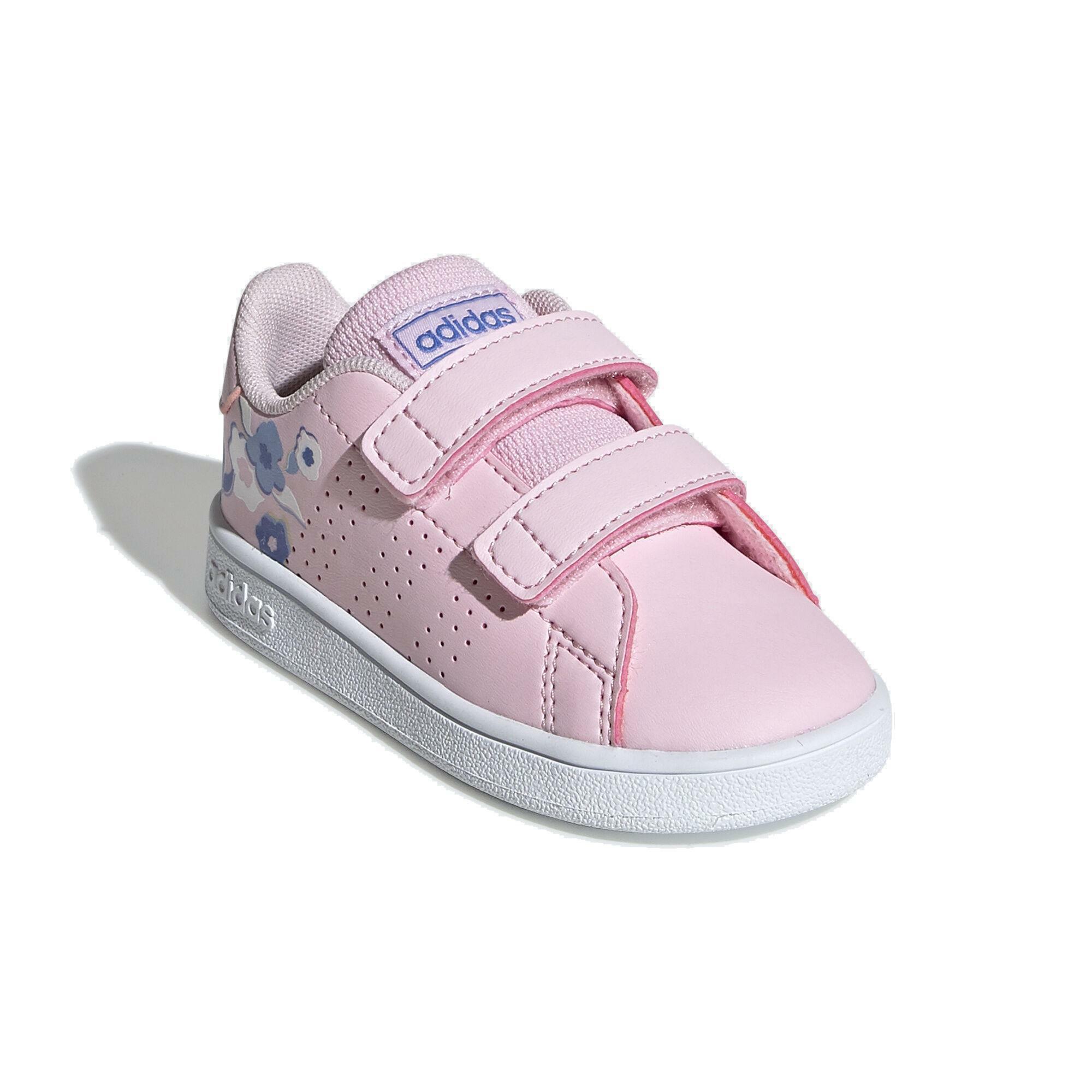 adidas adidas advantage i bambina strappo sportivo ef0304 rosa