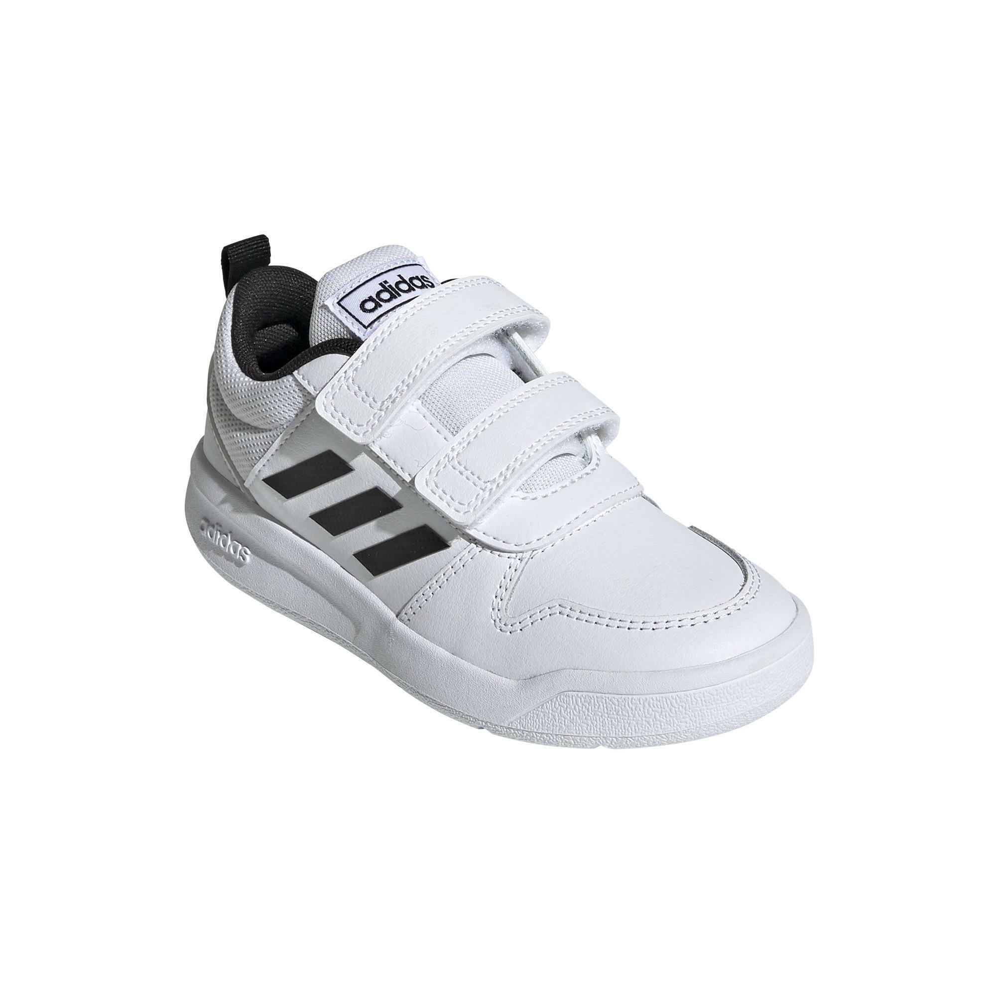 adidas tensaur c bambino stappo sportivo ef1093 bianco