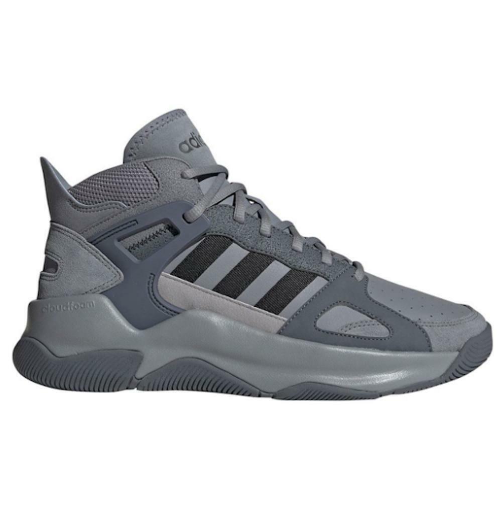 adidas adidas streetspirit uomo sneaker alta ee9978 grigio