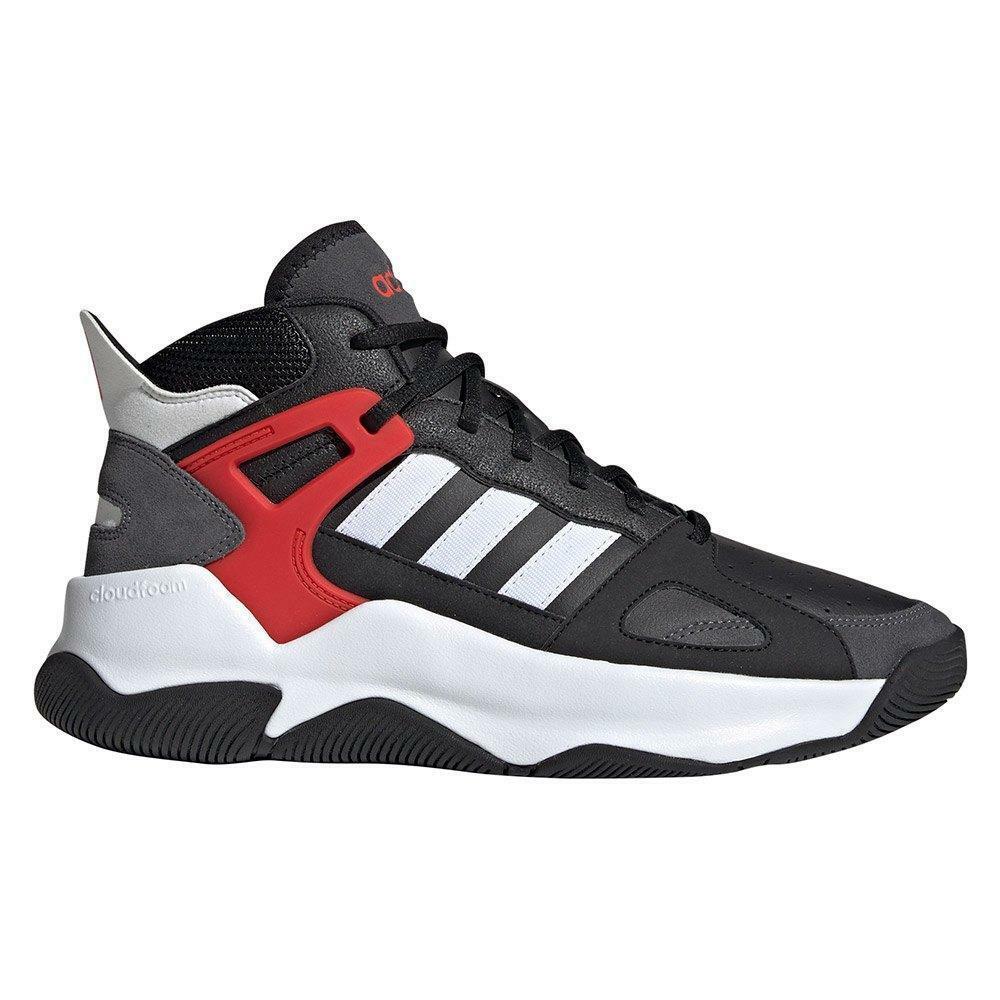 adidas adidas streetspirit uomo sneaker alta ee9982 nero
