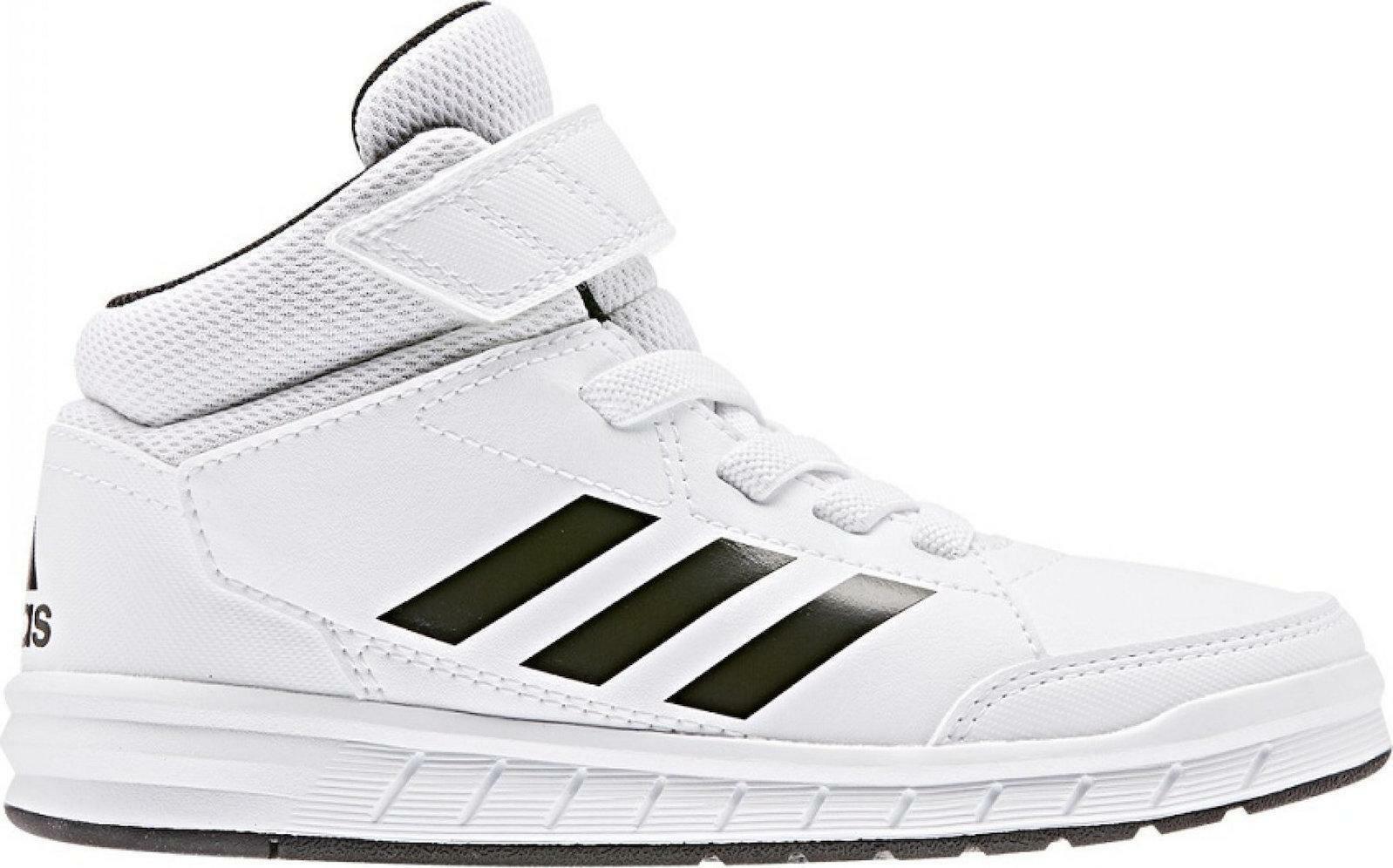 adidas adidas altasport mid k bambino sneaker alta g27114 bianco