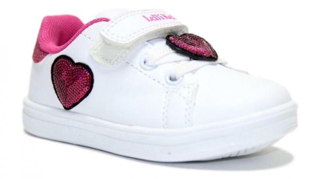 lelli kelly sneakers bassa bambina lk6802 bianco