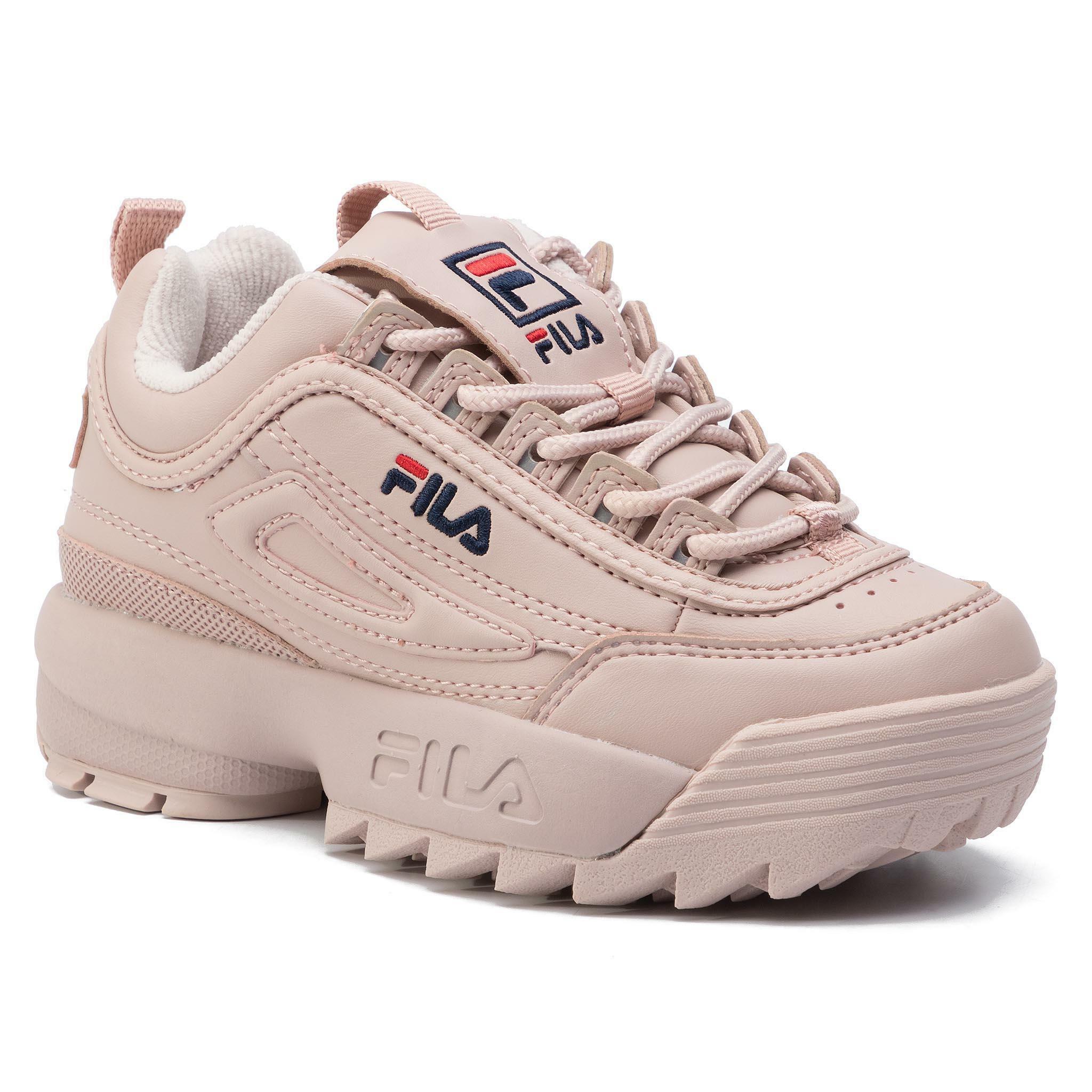 fila fila allacciato sportivo donna 1010302.71p rosa