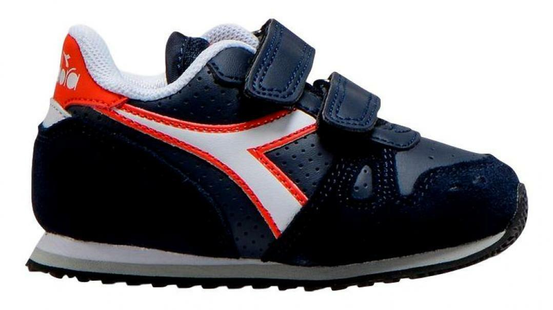 diadora diadora simple run up td bambino 175082 blu