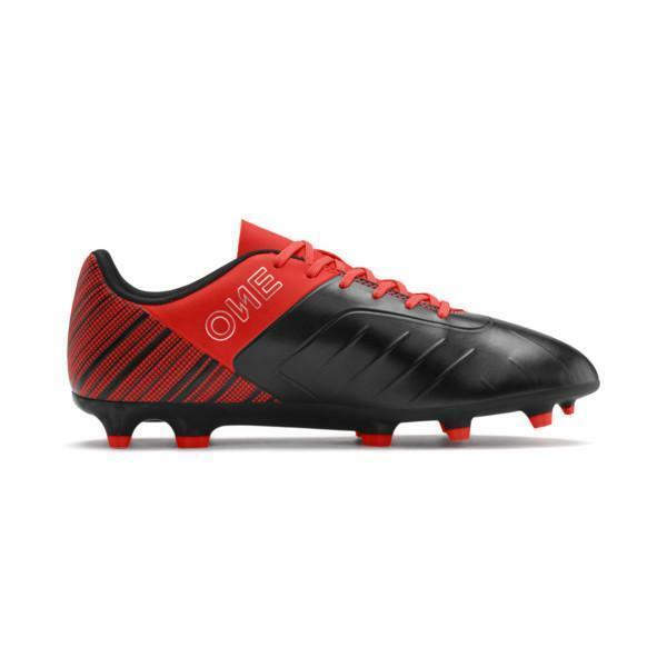 puma puma one 5.4 fg/ag jr scarpe calcio bambino 105660 001 arancio