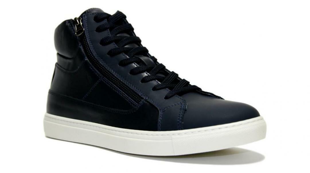 nero giardini nero giardini sneakers alta uomo a901301u 223 blu