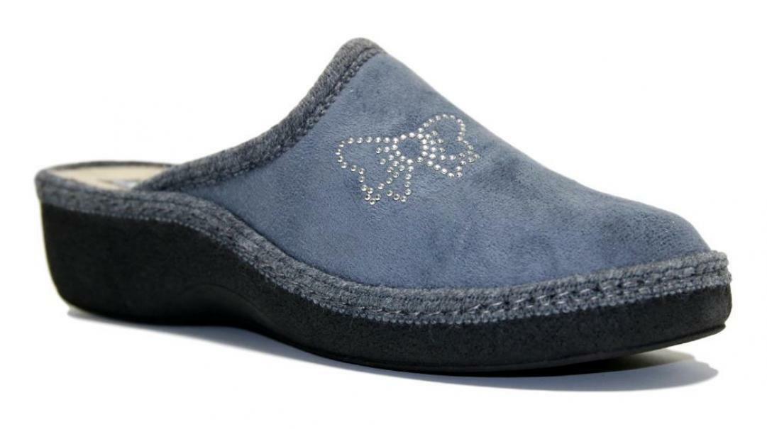 melluso melluso pantofole donna pd408f grigio