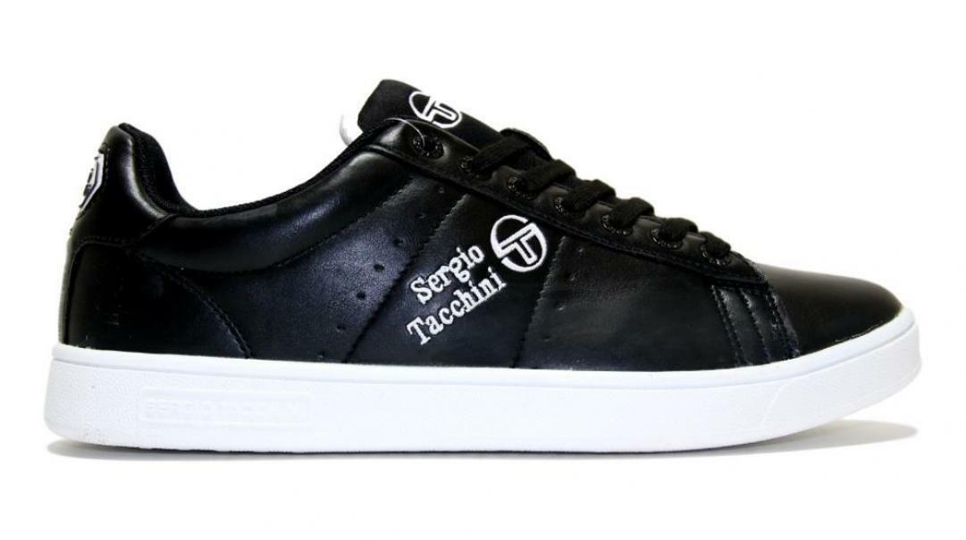 sergio tacchini sergio tacchini sneakers uomo stm924000 nero
