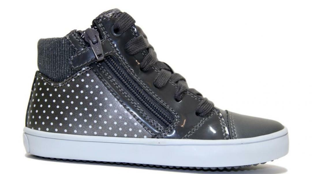 geox geox sneakers bambina j944nc 0aj54 c0710 grigio