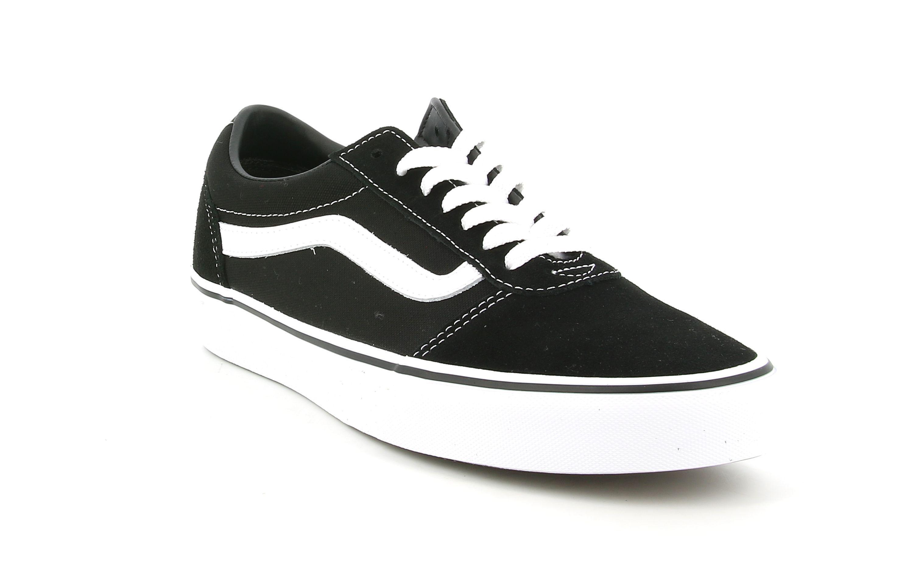 vans vans sneakers uomo  vn0a36emc4r1 nero bianco