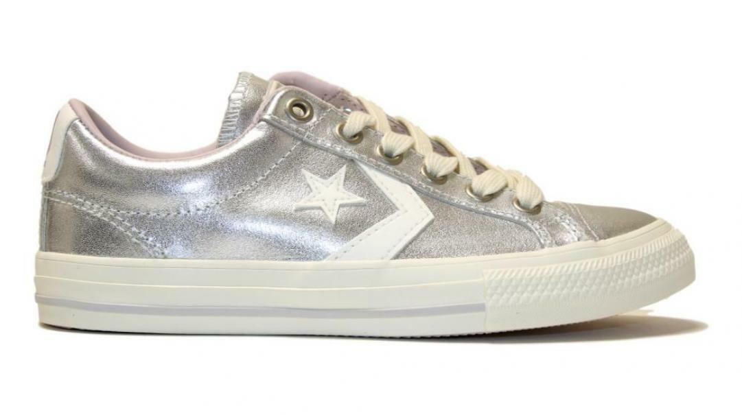sneakers converse argento