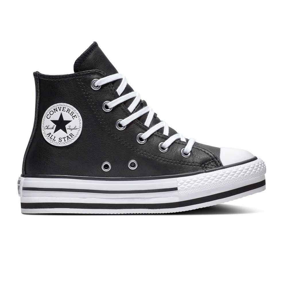 converse converse sneakers  bambina platform eva  hi 666391c nero