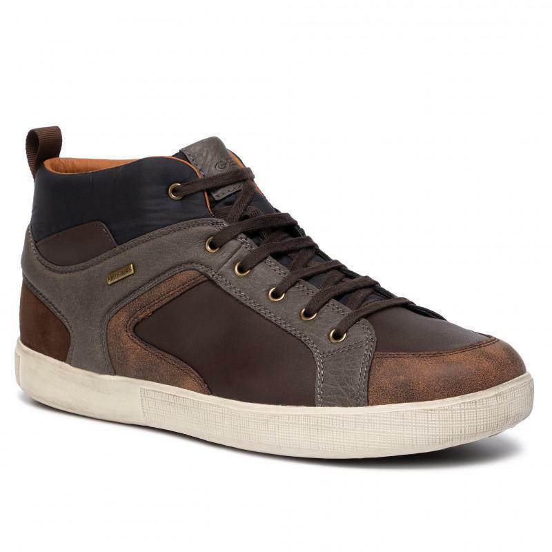 geox geox sneaker uomo u941ua 0cl43 c6044 marrone