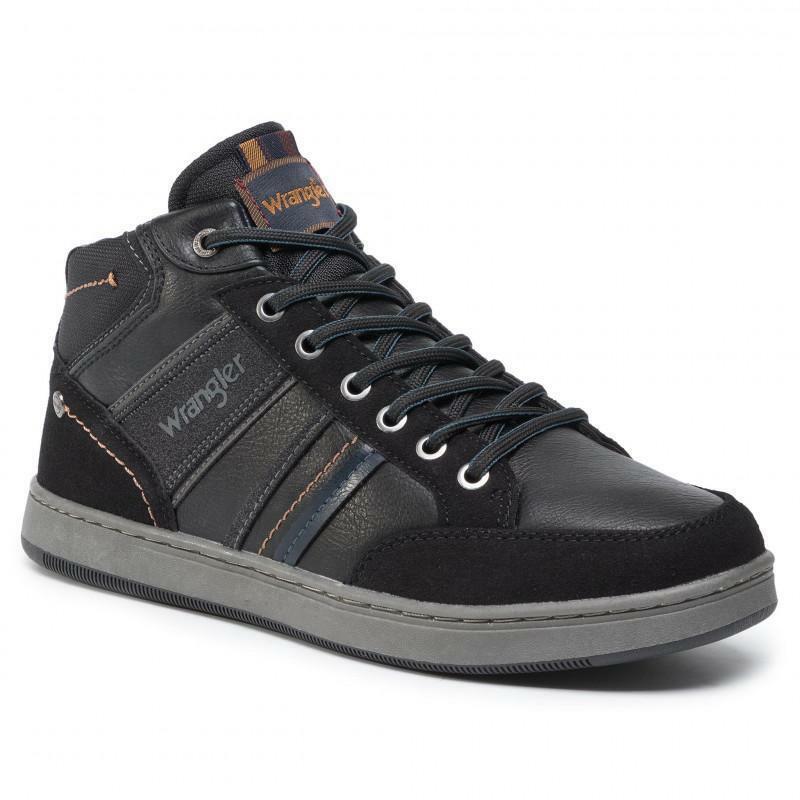 wrangler wrangler sneakers uomo wm92121a nero