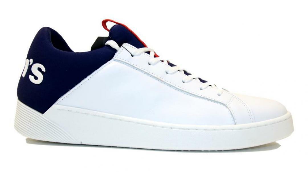 levis levis sneakers uomo 230087 bianco