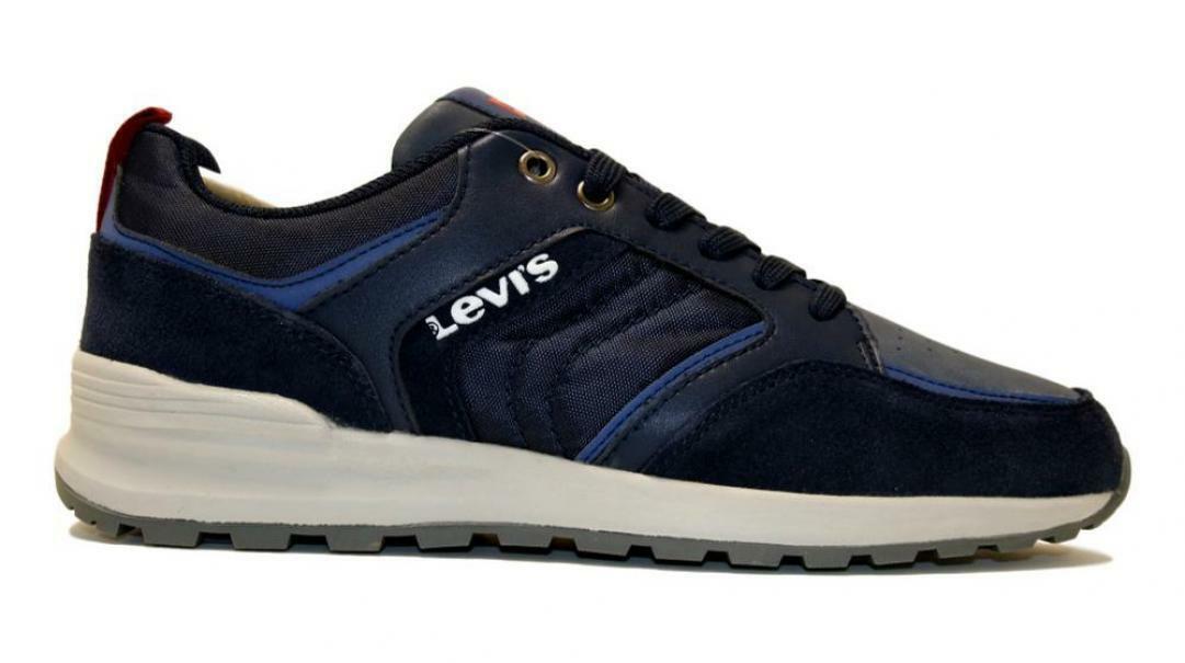levis levis allacciato sportivo  uomo 231390 blu
