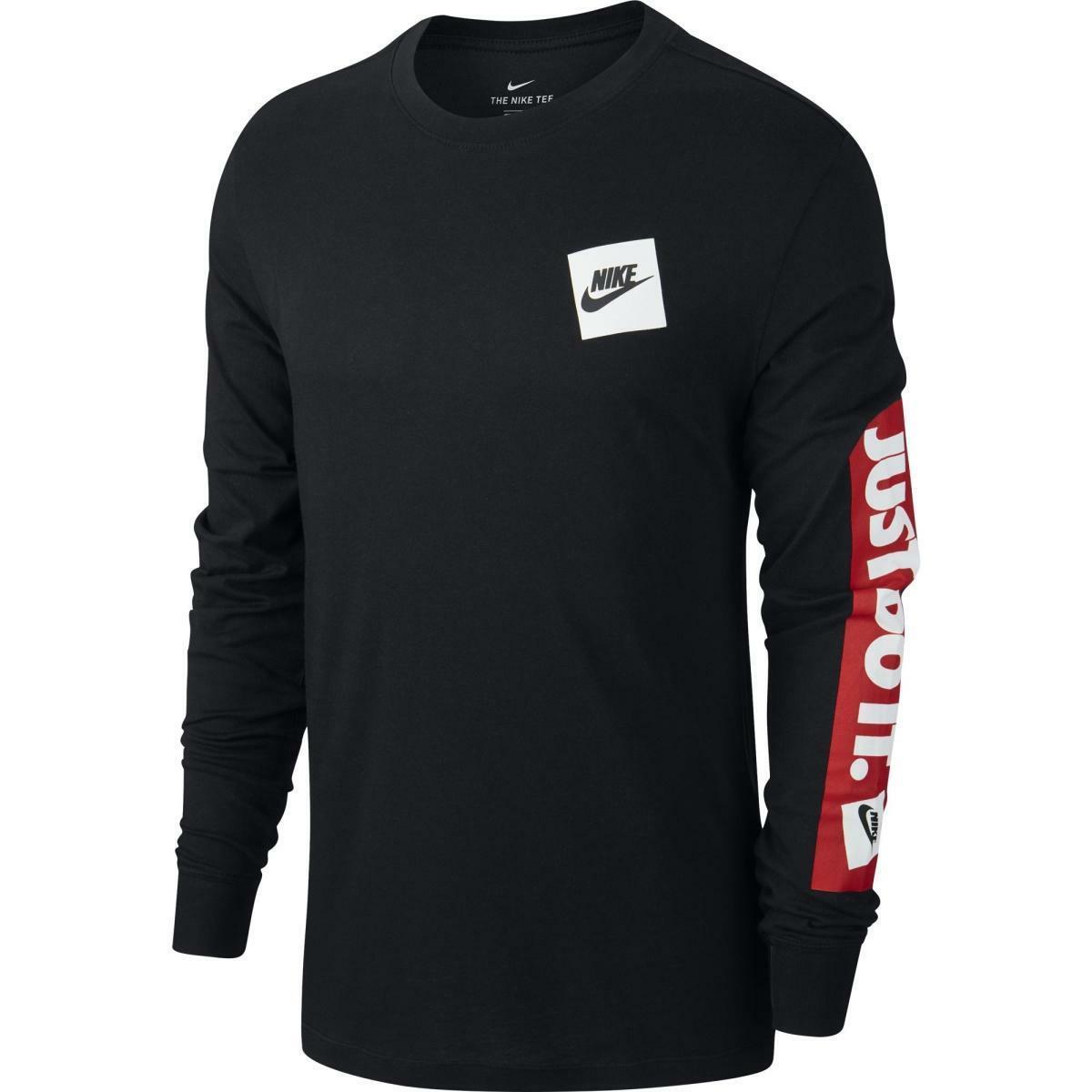 nike t-shirt uomo nike cd9598 010 nero