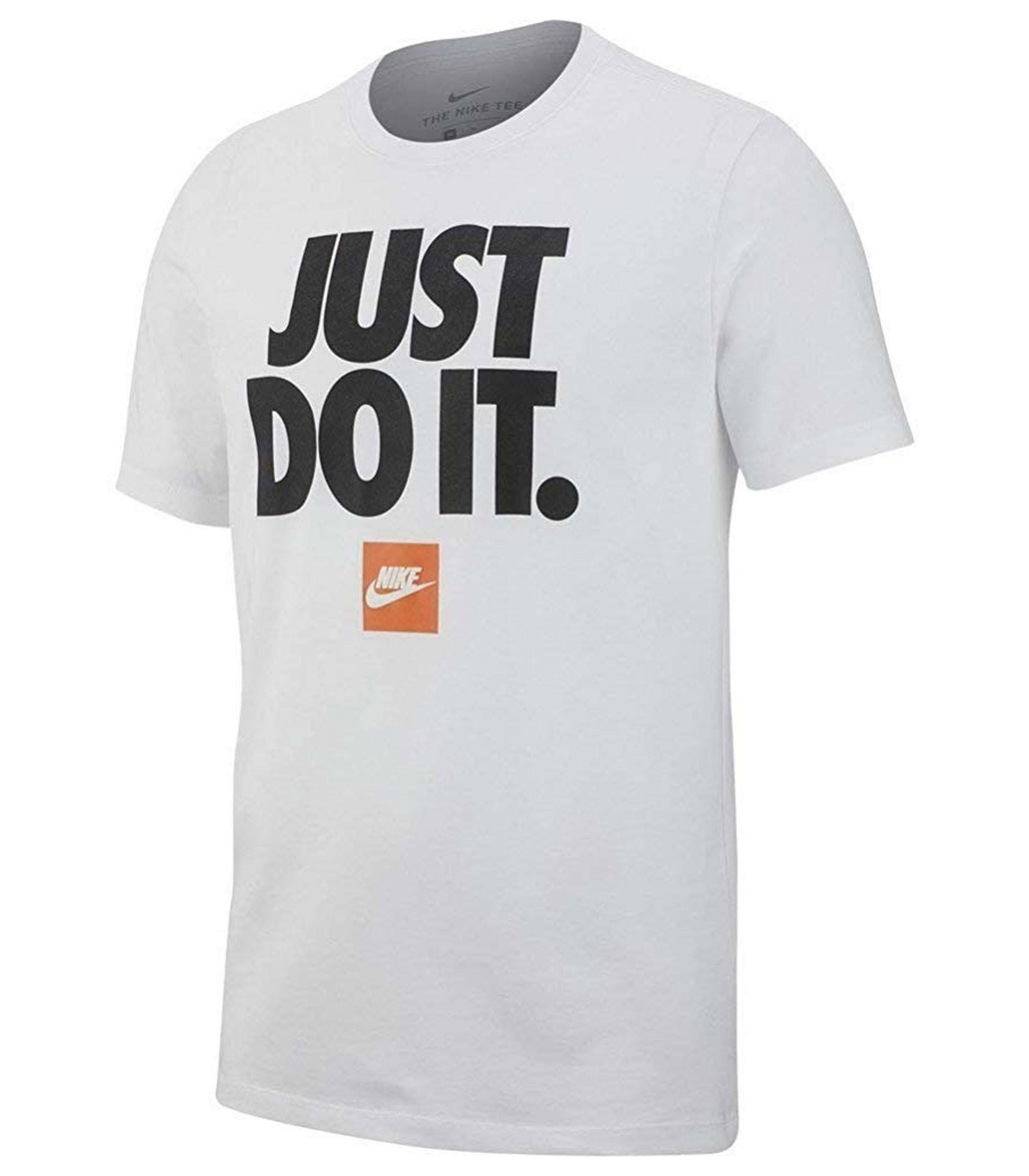 nike nike t-shirt uomo bv7662 100 bianca