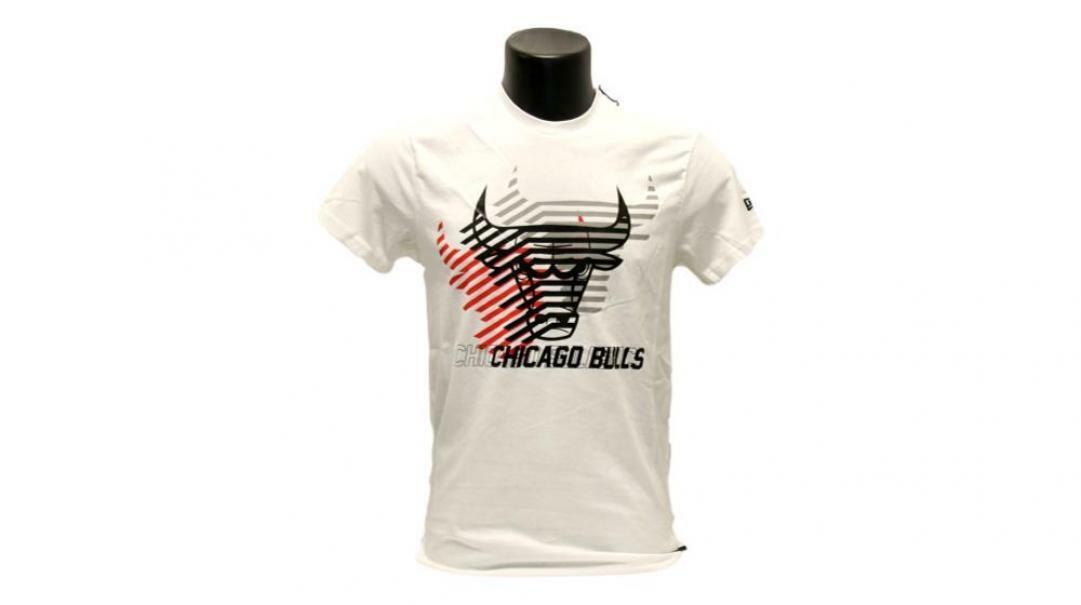 new era new era t-shirt uomo 12123908 bianco