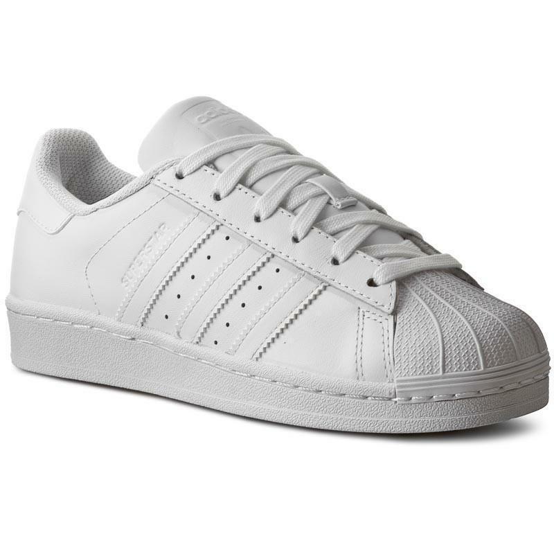 adidas adidas donna superstar foundation b27136 bianco