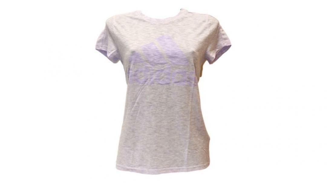 adidas adidas t-shirt donna fl4192 viola