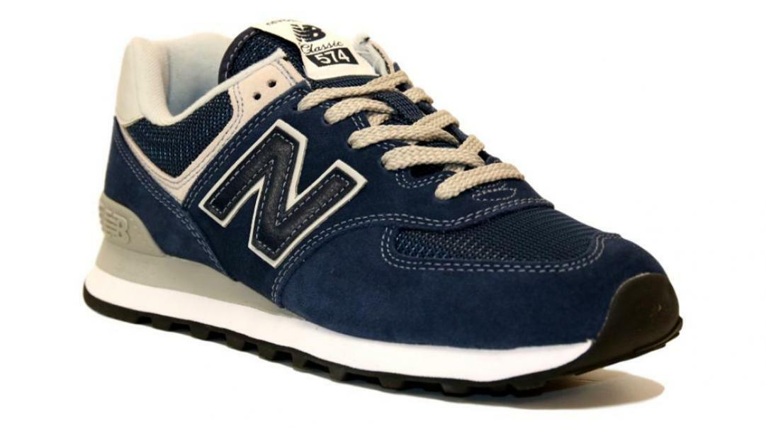 new balance new balance sportivo uomo ml574egn blu scarpe sportive uomo