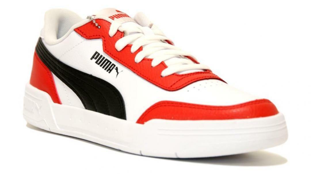 scarpe puma striscia rossa