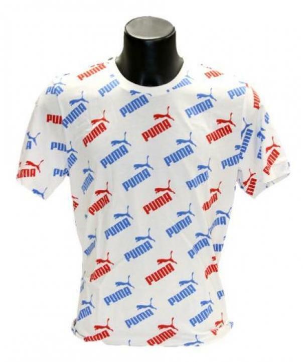 puma puma t-shirt uomo 581427 062 bianco