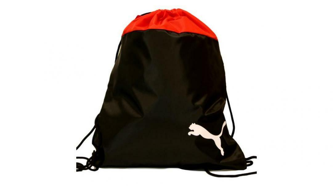 puma puma sacca 076853 001 sacca sportiva unisex rosso nero