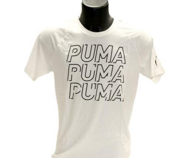 puma puma t-shirt donna 581489 002 bianco
