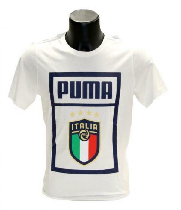 puma puma t-shirt uomo 757504 017 bianco