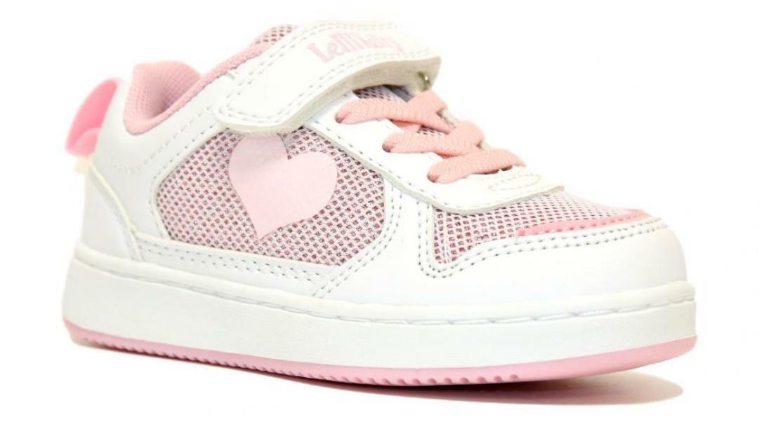 lelli kelly lelli kelly sneakers bambina lk1852 bianco