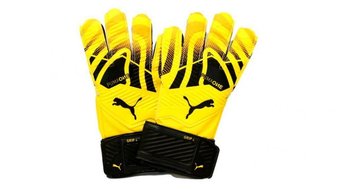 puma puma guanti da portiere 041655 002 giallo
