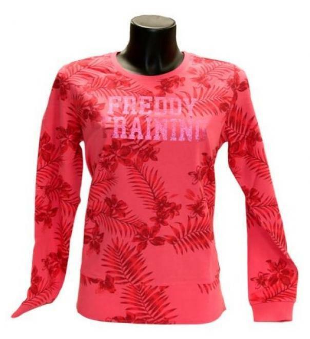 freddy freddy felpa allower flower pink  s0wtrs3 pink