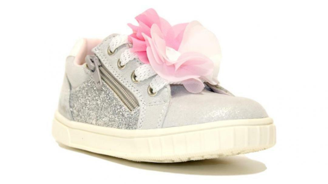 chicco chicco sneakers bambina 63611 argento